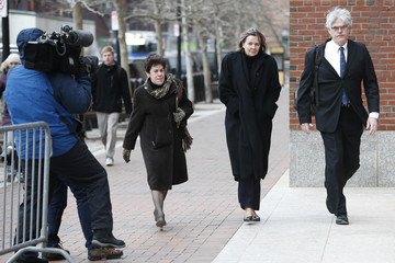 Defense attorneys Miriam Conrad, Judy Clarke and Timothy Watkins arrive at the federal courthouse on the second day of jury selection in the trial of accused Boston Marathon bomber Dzhokhar Tsarnaev in Boston