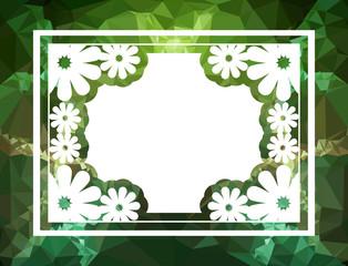 Original decorative background for text or photos. Vector clip art.