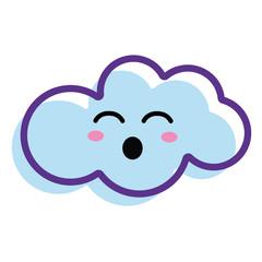 kawaii fanny cloud icon