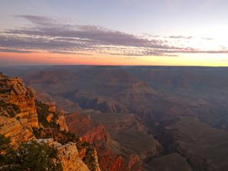 Sonnenaufgang im Grand Canyon