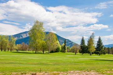 Beautiful golf course Zell am See