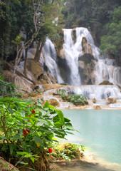 Kuang Si Falls, Luang Prabang Province, Laos