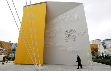 The Vatican pavillion is seen at Expo 2015 in Milan