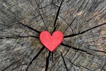 Red valentines heart.