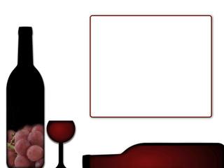 Carta de vinos. Imagen preparada para indicar la existencia de vino para su venta.