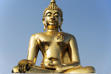 sitting Buddha in Golden Triangl