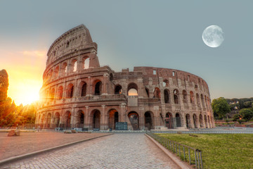 """Sunrise at Rome Colosseum (Roma Coliseum), Rome, Italy""""Elements of this image furnished by NASA """""""