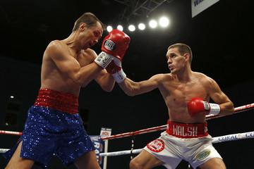 Liam Walsh v Andrey Klimov IBF World Super Featherweight Title Final Eliminator