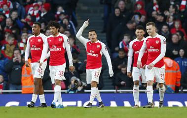 Arsenal v Burnley - FA Cup Fourth Round