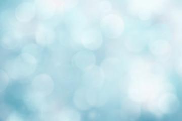 Wall Mural - Blue  backgorund blur.