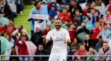 Football Soccer - Spanish Liga BBVA- Getafe v Real Madrid