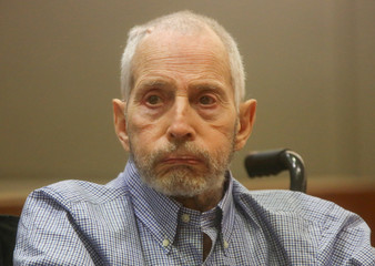 FILE PHOTO - New York real estate scion Durst appears in the Los Angeles Superior Court Airport Branch  for a pre-trial motions hearing in Los Angeles