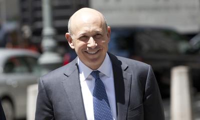Goldman Sachs Chairman and CEO Blankfein enters Manhattan Federal Court in New York
