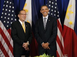 U.S. President Barack Obama meets with Philippines President Benigno Aquino in Nusa Dua