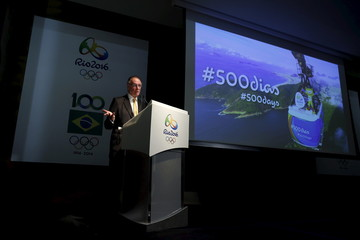 Rio 2016 Olympic Games Organising Committee President Nuzman speaks during a news conference in Rio de Janeiro