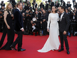 """Director James Gray and cast members arrive for the screening of the film """"The Immigrant"""" in competition during the 66th Cannes Film Festival"""