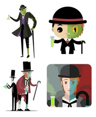 doctor jekyll and mister hyde creatures monsters
