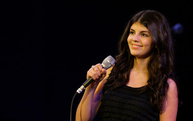Canadian singer Nikki Yanofsky performs on stage at the XIV Jazz Festival in Valencia