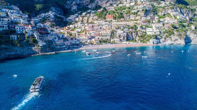 Blue Water in the Amalfi Coast