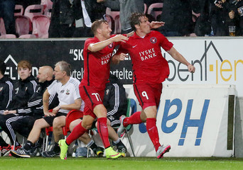 FC Midtjylland v Southampton - UEFA Europa League Qualifying Play-Off Second Leg