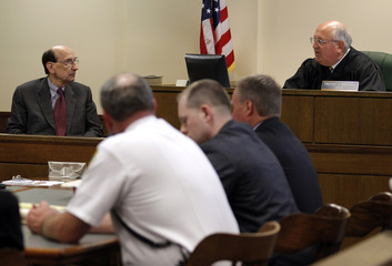 Dr. Phillip Resnick testifies to judge Timothy Grendell about reports on  T.J. Lane during a hearing into his competency to face trial in Chardon