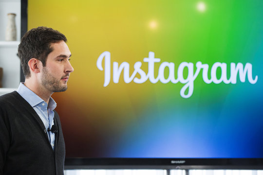 Instagram CEO and co-founder Systrom attends the launch of Instagram Direct in New York