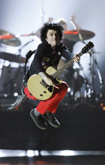 """Armstrong of the band """"Green Day"""" performs at the American Theatre Wing's 64th annual Tony Awards ceremony in New York"""