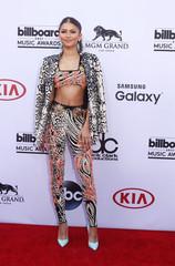 Singer Zendaya arrives at the 2015 Billboard Music Awards in Las Vegas
