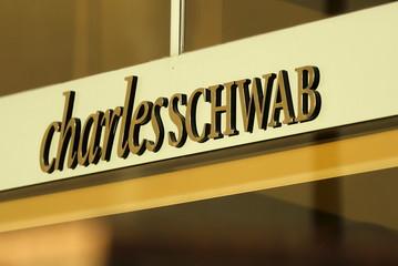 A Charles Schwab office is shown in Los Angeles