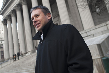 Eric Prokopi leaves Manhattan Federal Court in New York