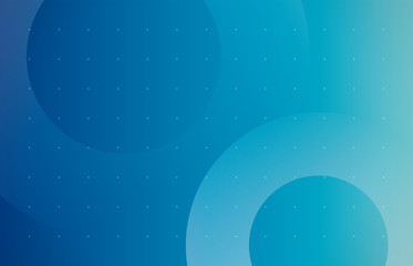 背景 ビジネス イメージ 輪(ブルー)