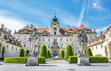 Valtice contains one of the most impressive baroque residences of central Europe