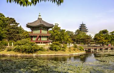 Gyeonghoeru Pavilion, Seoul, Korea