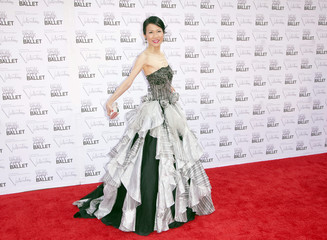 Publisher of Yue magazine Chiu-Ti Jansen arrives for the 2012 New York City Ballet Fall Gala at the Lincoln Center in New York