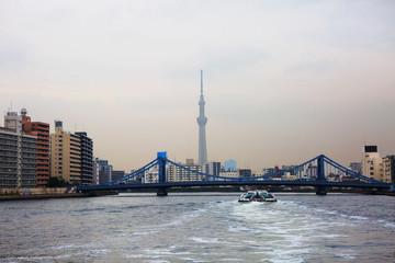 Токио. Мост через реку Сумида.