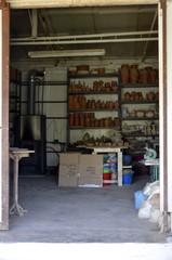 Koumaradei : Fabrique Timo de céramique (Samos)