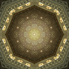Decorative Islamic Ceiling Art