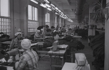 File photo of female inmates sewing at penal colony number 54