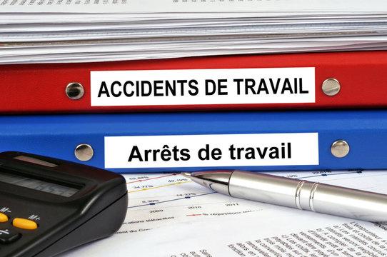 Dossiers accidents de travail et arrêts de travail