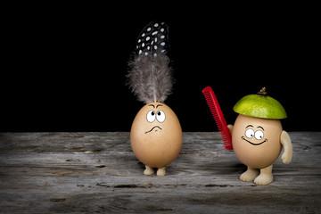 Friseur - Eier
