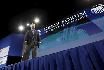 U.S. Senator and former U.S. Republican presidential candidate Lindsey Graham, speaks at the 2016 Kemp Forum on Expanding Opportunity in Columbia