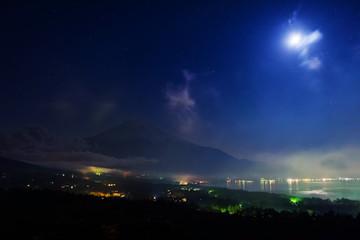 Fuji Panoramadai viewpoint at night