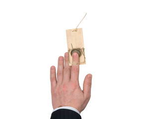 Hand in a Mousetrap