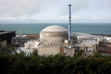 General view of the construction site of the third-generation European Pressurised Water nuclear reactor (EPR) in Flamanville