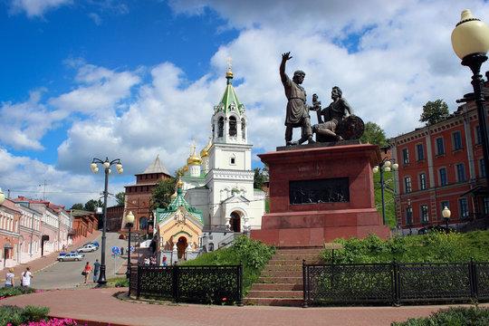 Площадь Народного единства, Нижний Новгород, Россия