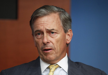 Moffett Cochran, CEO of Silvercrest Asset Management, speaks during the Reuters Global Private Banking Summit in New York