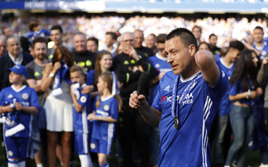 Chelsea's John Terry after the match