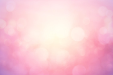 Pink vintage color trends bokeh background