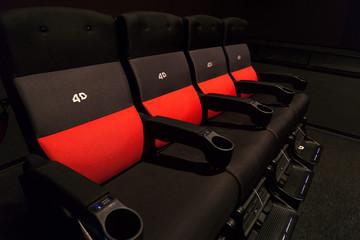 4D映画館 観客席