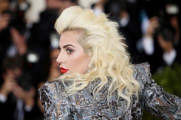 Singer-songwriter Lady Gaga arrives at the Met Gala in New York